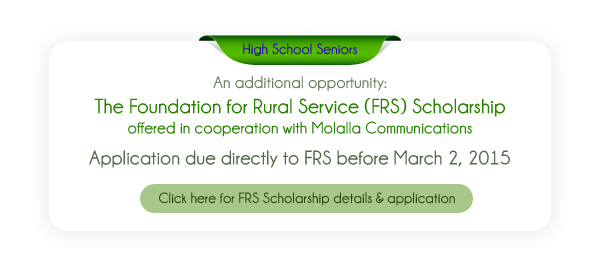 Apply for the 2015 FRS Scholarship.