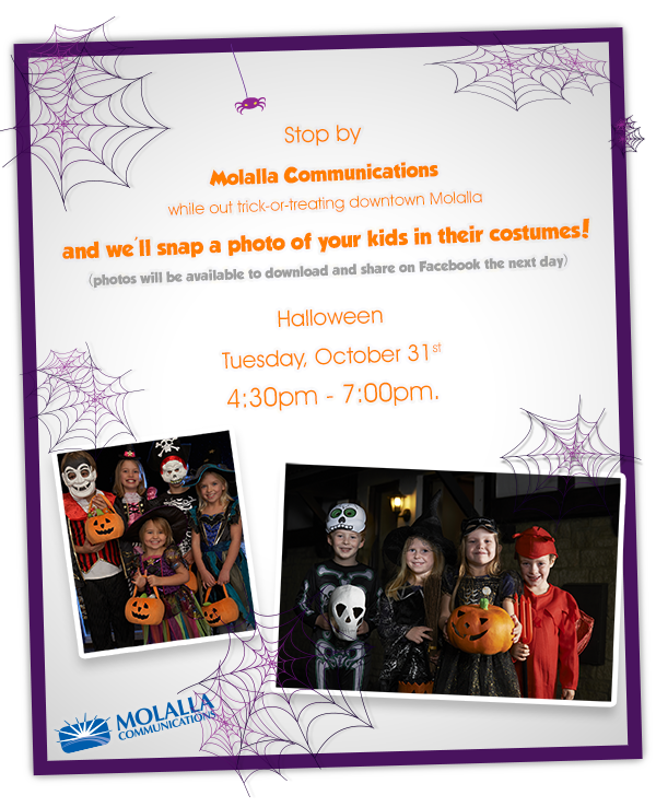 Trick or Treat MCC this Hallowen, 4:30pm - 7pm.