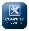 Computer Services Button