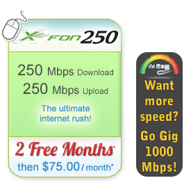 X-FON 250 Broadband Only